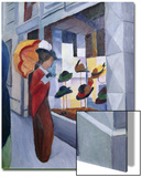The Hat Shop Posters by Auguste Macke
