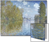 Autumn in Argenteuil Prints by Claude Monet