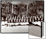Waiters at Hotel Delmonico, 1902 Posters by  Byron Company