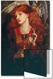 The Damsel of the Sanct Grail, 1874 Posters by Dante Gabriel Rossetti