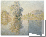 Early Morning on the Seine at Giverny, 1893 Posters by Claude Monet