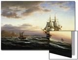 Shipping on the Bosphorus Prints by Franz Johann Wilhelm Hunten