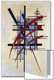 Zeichen Mit Begleitung, 1927 Láminas por Wassily Kandinsky