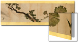 Detail of Handscroll with Miscellaneous Images, Edo Period, 1839 Prints by Katsushika Hokusai