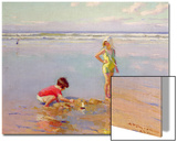 Children on the Beach Posters by Charles-Garabed Atamian