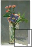 Carnations and Clematis in a Crystal Vase, 1882 Poster von Édouard Manet