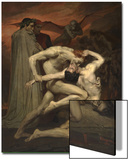 Dante and Virgil in Hell Posters par William-Adolphe Bouguereau