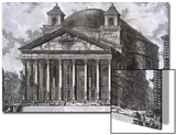 Pantheon of Agrippa, Rome Posters by Giovanni Battista Piranesi