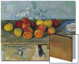 Still Life of Apples and Biscuits, 1880-82 Prints by Paul Cézanne