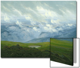 Drifting Clouds Prints by Caspar David Friedrich