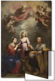 The Heavenly and Earthly Trinities (The Pedroso Murill), C. 1680 Prints by Bartolome Esteban Murillo