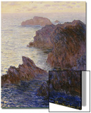 Rocky Point at Port-Goulphar Poster by Claude Monet