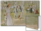 Breakfast in the Open (Frukost I Det Grona), 1910 Prints by Carl Larsson