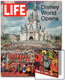 Disney World Opens, October 15, 1971 Prints by Yale Joel