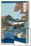 Tatsuta River, Yamato Province Prints by Ando Hiroshige