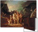 Daniel Boone Escorting Settlers Through the Cumberland Gap, 1851-52 Prints by George Caleb Bingham