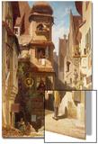 The Postman, about 1852-59 Affischer av Carl Spitzweg