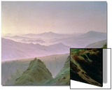 Morning in the Mountains Posters by Caspar David Friedrich