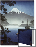 Japanese Print (Mt Fuji from Tagonoura) Posters