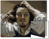 The Desperate Man (Self-Portrai) Posters by Gustave Courbet