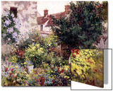 In the Garden Print by Camille Pissarro