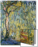 The Large Willow at Giverny, 1918 Art by Claude Monet