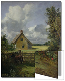 Cottage in a Cornfield, 1833 Art by John Constable
