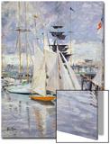 The Harbour, Deauville, Normandy, 1912 Prints by Paul Cesar Helleu