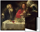 The Supper at Emmaus, circa 1614-21 Prints by  Caravaggio