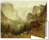 Hunting in Yosemite, 1890 Art by Thomas Hill