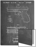 Glock Pistol Patent Print
