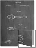 Dinner Spoon Patent Posters