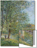 Morning Near the Loing; Matin Pres Du Loing, 1879 Posters by Alfred Sisley