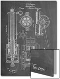 Machine Gun Patent Print