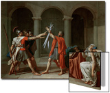 The Oath of the Horatii Prints by Jacques-Louis David