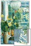 Veranda of the Old House, 1912 Prints by Childe Hassam
