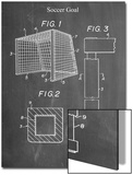 Soccer Goal Patent Posters