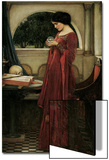 The Crystal Ball Posters by John William Waterhouse