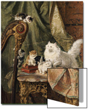 A Musical Interlude, 1897 Posters by Henriette Ronner-Knip