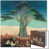 Pilgrimage To the Cedars of Lebanon Prints by Kosztka Tivadar Csontváry