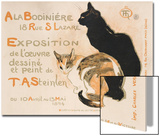 A la Bodiniere, 1894 Poster by Théophile Alexandre Steinlen