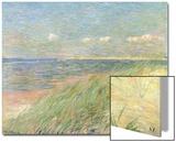 Les Dunes Du Zwin, Knokke, 1887 Art by Théo van Rysselberghe