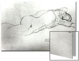 Reclining Woman, c.1914 Prints by Gustav Klimt