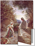 Jesus Revealing Himself to Mary Magdalene Posters by William Brassey Hole