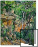 In the Park at Chateau Noir, 1898-1900 Art by Paul Cézanne