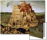 The Tower of Babel Affischer av Pieter Bruegel the Elder