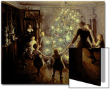 Silent Night, 1891 Prints by Viggo Johansen