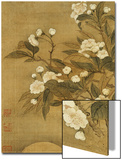 Pear Blossom and Moon Arte por Yun Shouping