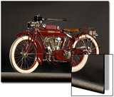 1915 Indian Big Twin Julisteet tekijänä S. Clay