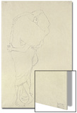 Standing Pair of Lovers Posters by Gustav Klimt